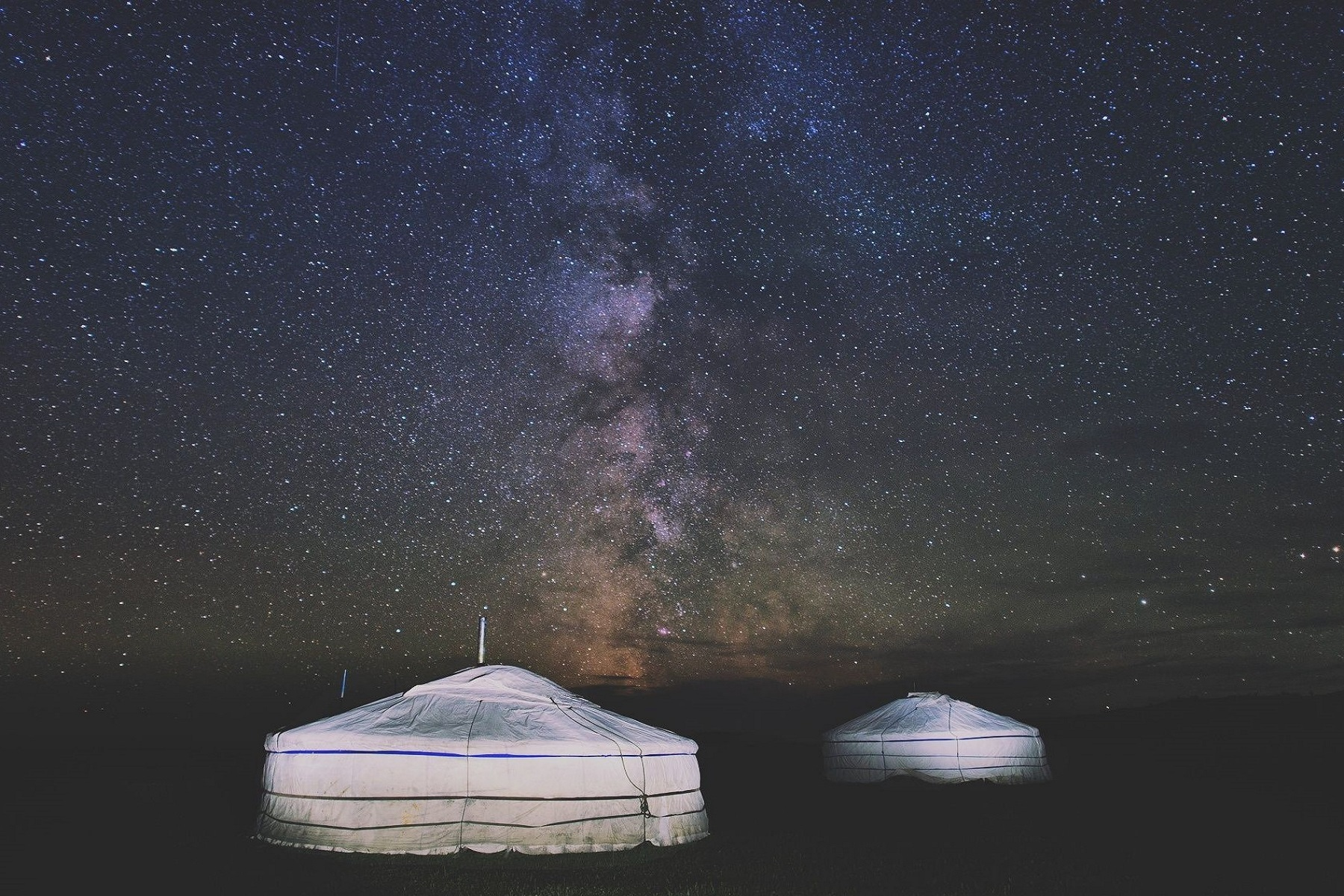 mongolia gher notte